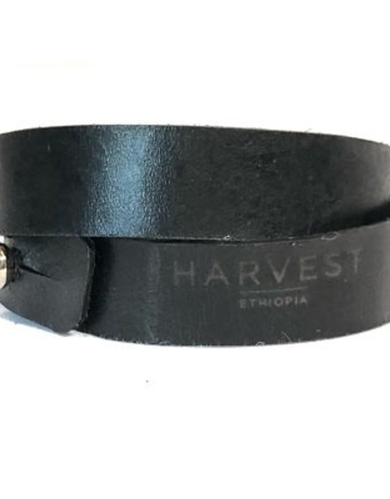Harvest Ethiopia Leather Bracelets