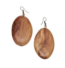 Harvest Ethiopia Wooden Earrings