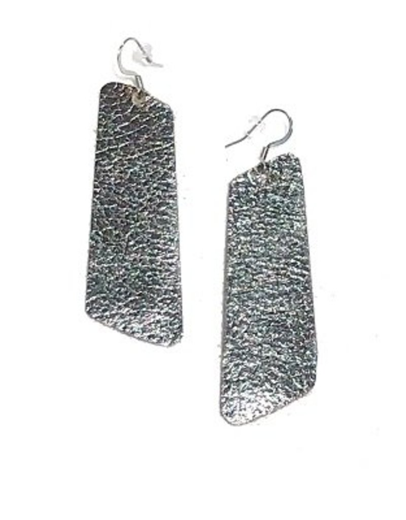 Harvest Ethiopia Leather Trap Earrings