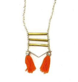 Harvest Ethiopia TASSEL NECKLACE