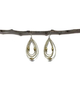 Harvest Ethiopia BULLET TEARDROP EARRINGS