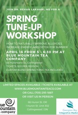 Spring Tune Up Workshop