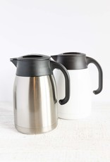 Blue Mountain Tea Co. Pengu Stainless Steel Vacuum Pot White 1L