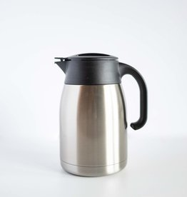 Blue Mountain Tea Co. Pengu Stainless Steel Vacuum Pot Silver