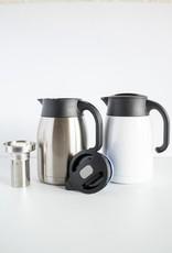 Blue Mountain Tea Co. Pengu Stainless Steel Vacuum Pot Silver 1L