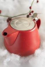 Blue Mountain Tea Co. Tint Teapot Red
