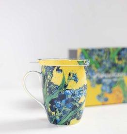 McIntosh Iris Mug with infuser Van Gogh