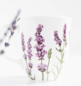 McIntosh Lavender Bone China Mug