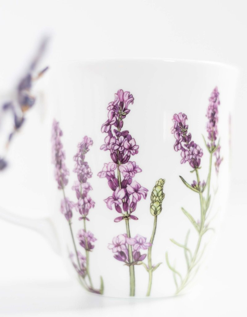 McIntosh Lavender Bone China Mug