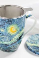 McIntosh Starry Night Mug with infuser Van Gogh