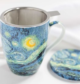 McIntosh Starry Night Mug with infuser Van Gogh