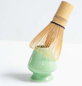 Blue Mountain Tea Co. matcha whisk holder green