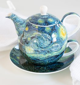 McIntosh Tea for One Van Gogh Starry Night