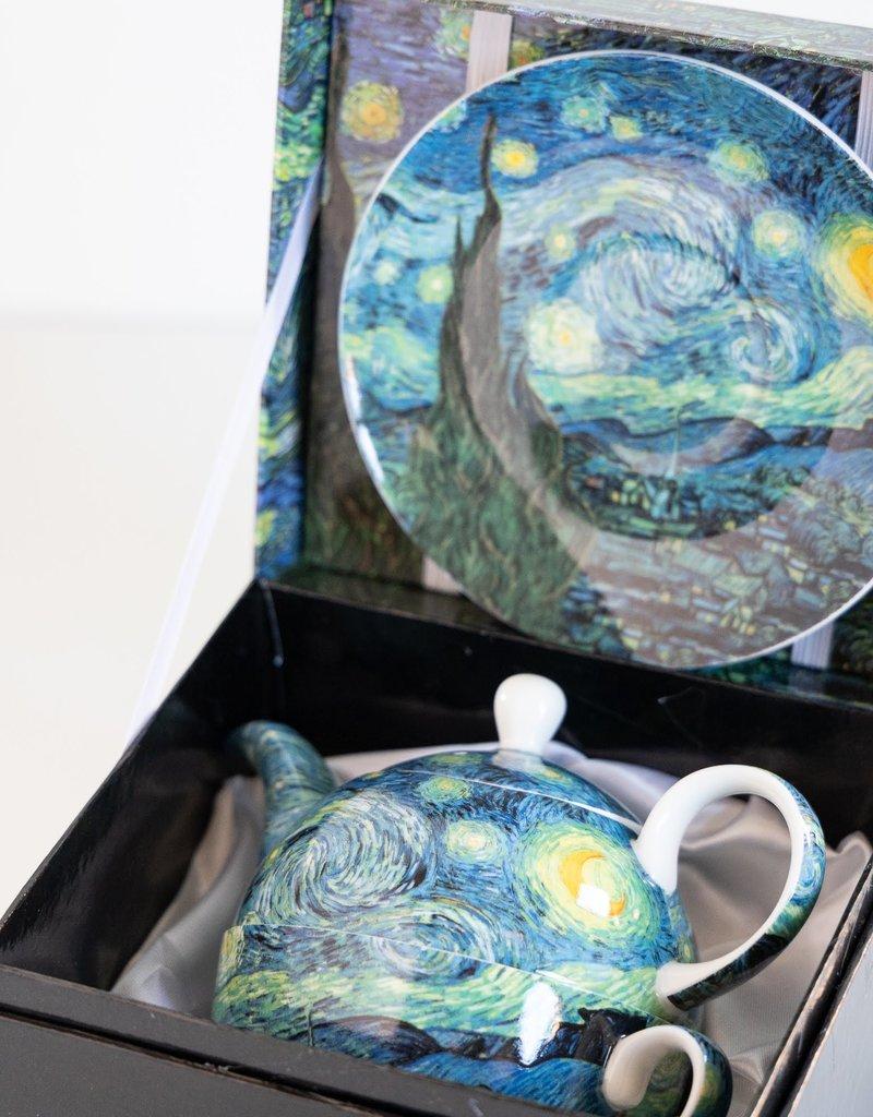 McIntosh Tea for One Van Gogh Starry Night