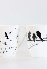 McIntosh Bird Silhouette Mug Set