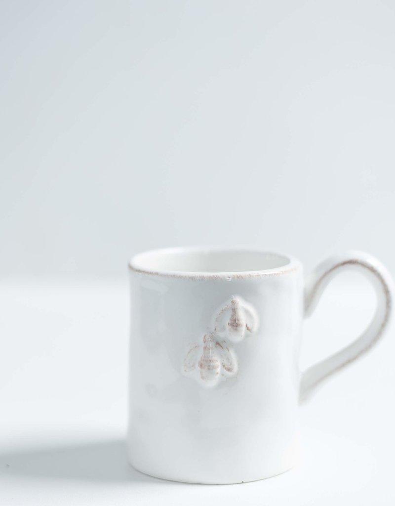 Blue Mountain Tea Co. Bumblebee white Mug
