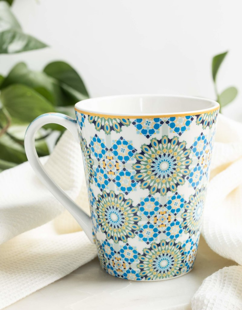 Blue Mountain Tea Co. MUG BUKHARA BLUE 360ML