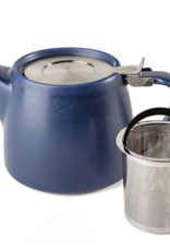 Forlife Stump teapot indigo blue