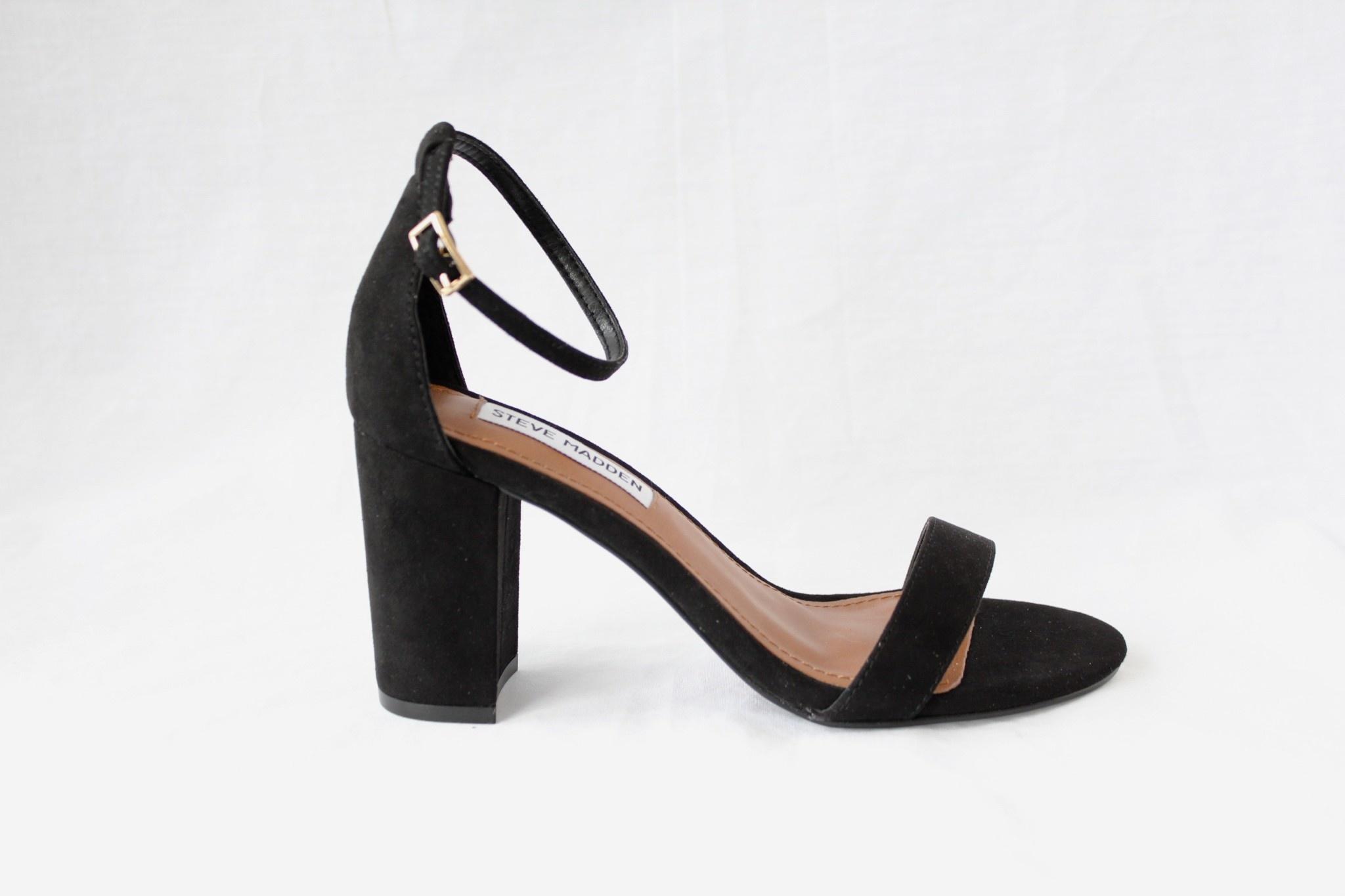 """STEVE MADDEN STEVE MADDEN """"DYLANN"""" Heel Sandal  Reg. $110  Sale $79"""
