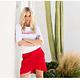 ESQUALO ESQUALO 05217 Ruffle Skirt