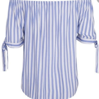 ESQUALO ESQUALO 36215 Blouse Striped