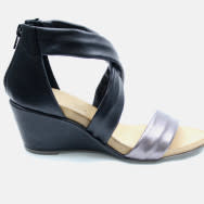 "BUENO BUENO ""IONA"" Wedge Sandal Leather"