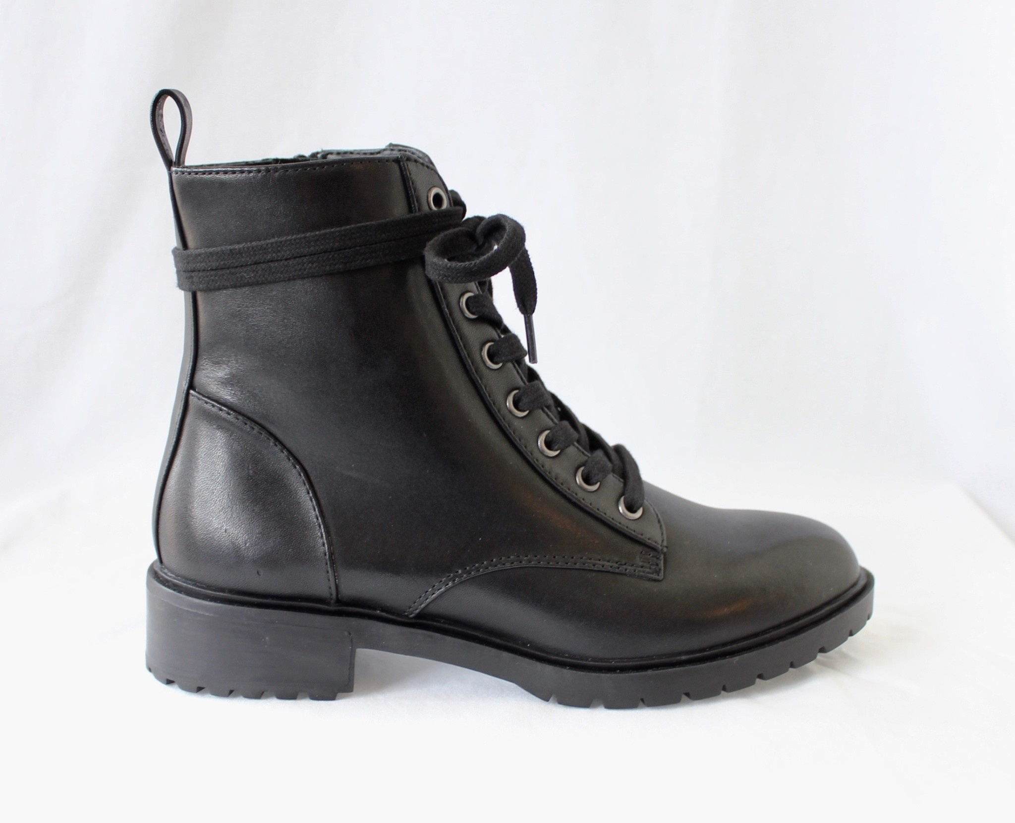 "STEVE MADDEN STEVE MADDEN ""OFFICER"" Lace-up Boot Reg. $160 Sale $119"