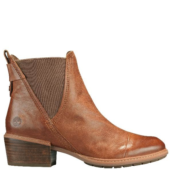 "TIMBERLAND TIMBERLAND ""Sutherlin Bay Slouch"" Chelsea Boot  Reg. $175  Sale $139"