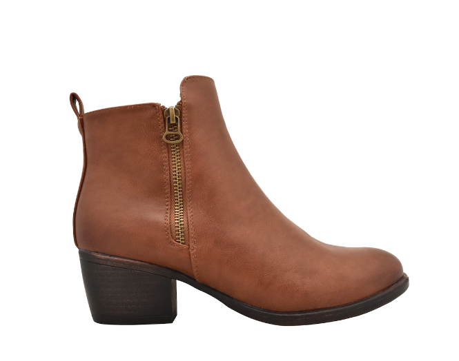 "TAXI TAXI ""HAILEY"" Tan Bootie Waterproof"