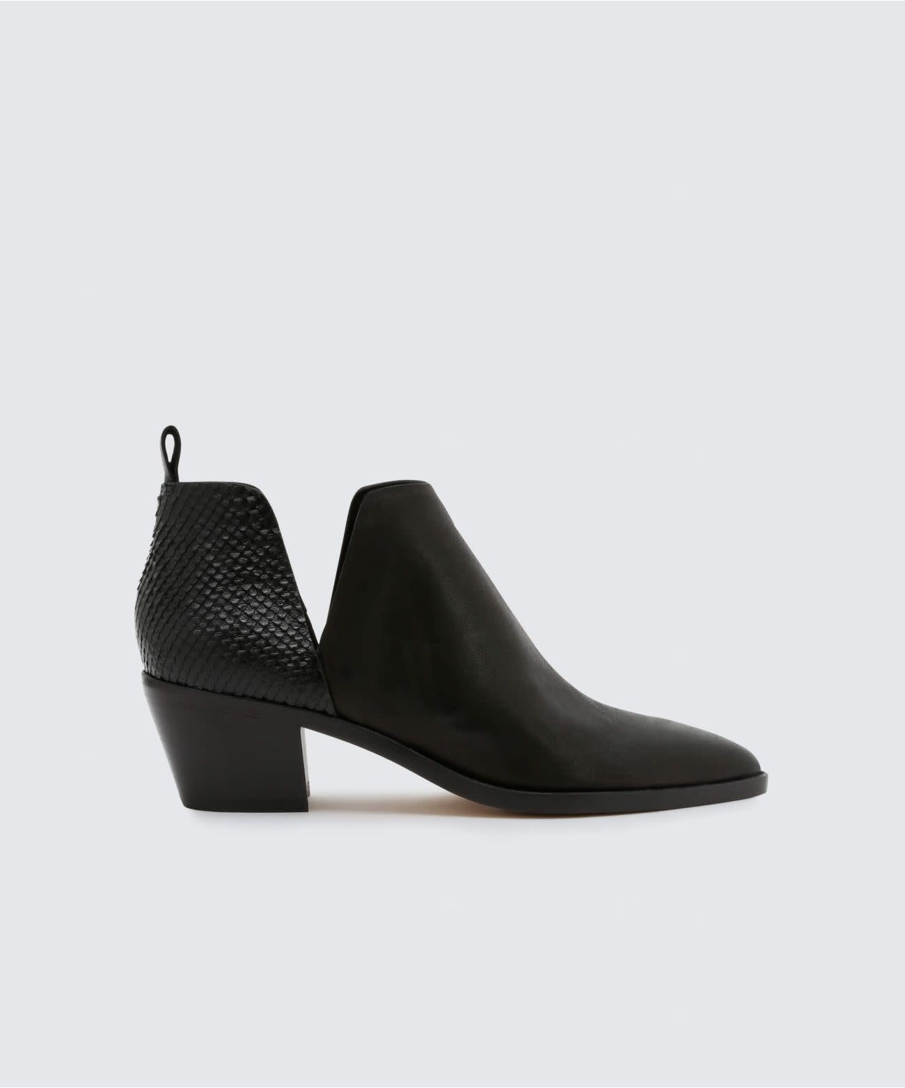 "DOLCE VITA DOLCE VITA ""SONNI"" SIDE CUT OUT BOOTIE  Reg. $199  Sale $149"