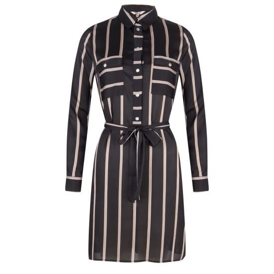 ESQUALO ESQUALO 14528 Striped Dress