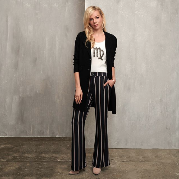 ESQUALO ESQUALO 14530 Striped Trousers