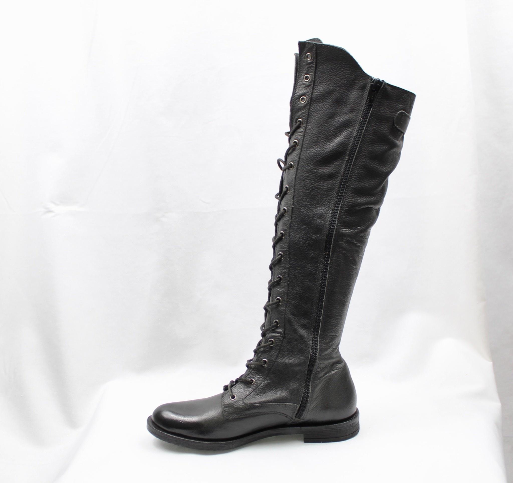 """FELMINI FELMINI C025 """"Etwa"""" Tall Lace-up Boot  Reg. $285  Sale $219"""