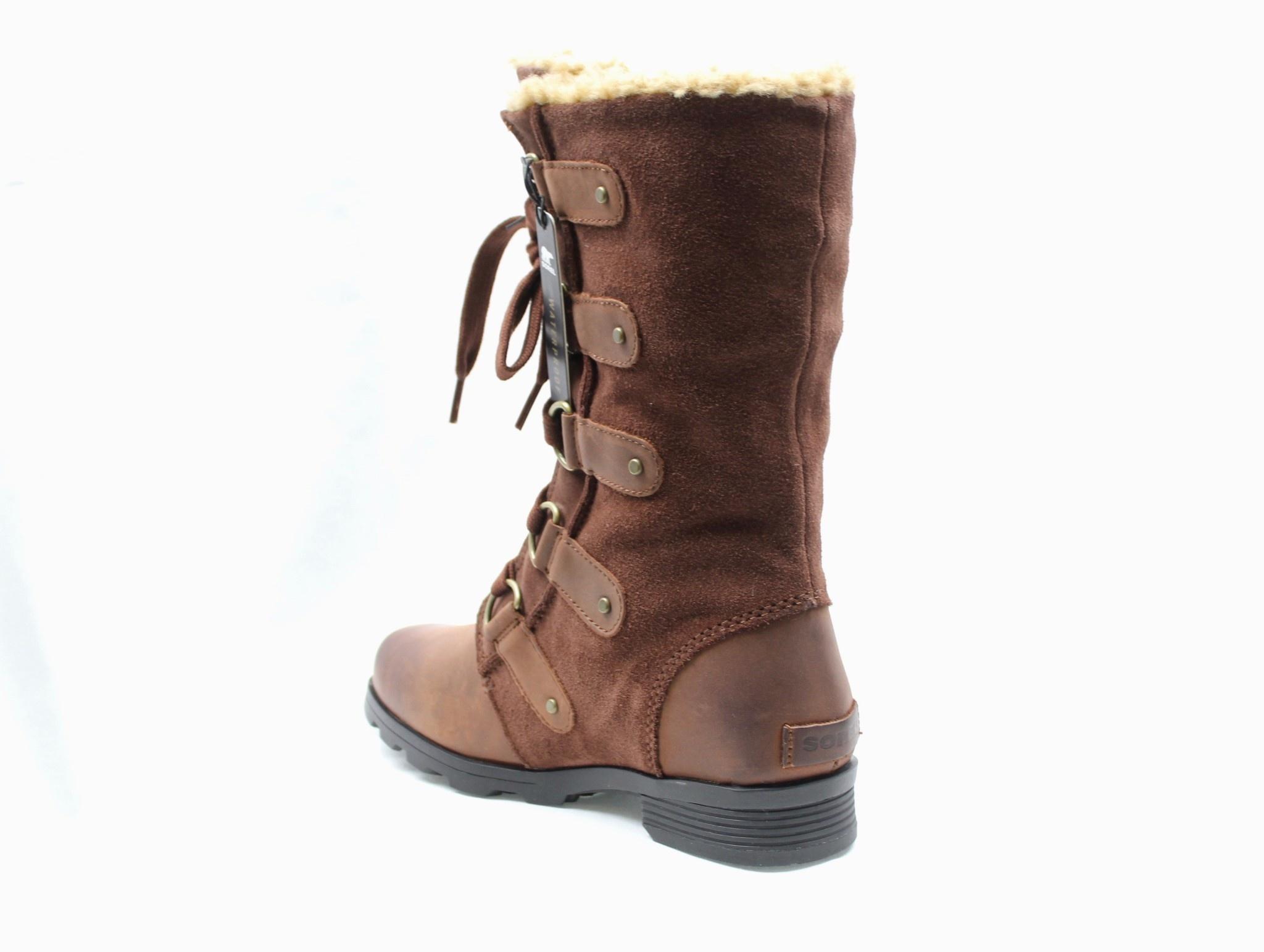 """SOREL SOREL """"EMELIE"""" Tall Lace-Up Waterproof Boot  Reg. $250  Sale $149"""