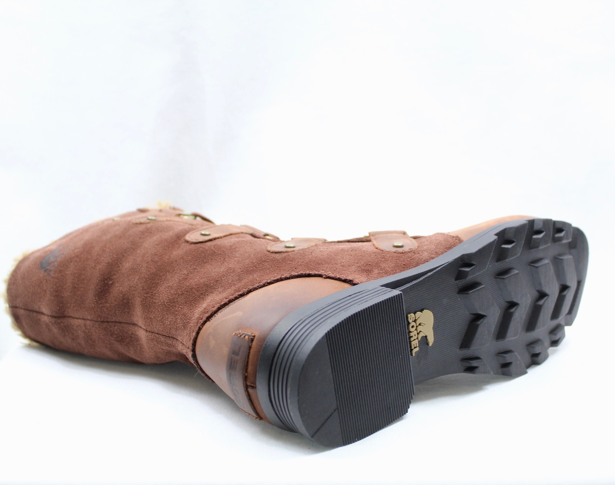 "SOREL SOREL ""EMELIE"" Tall Lace-Up Waterproof Boot"