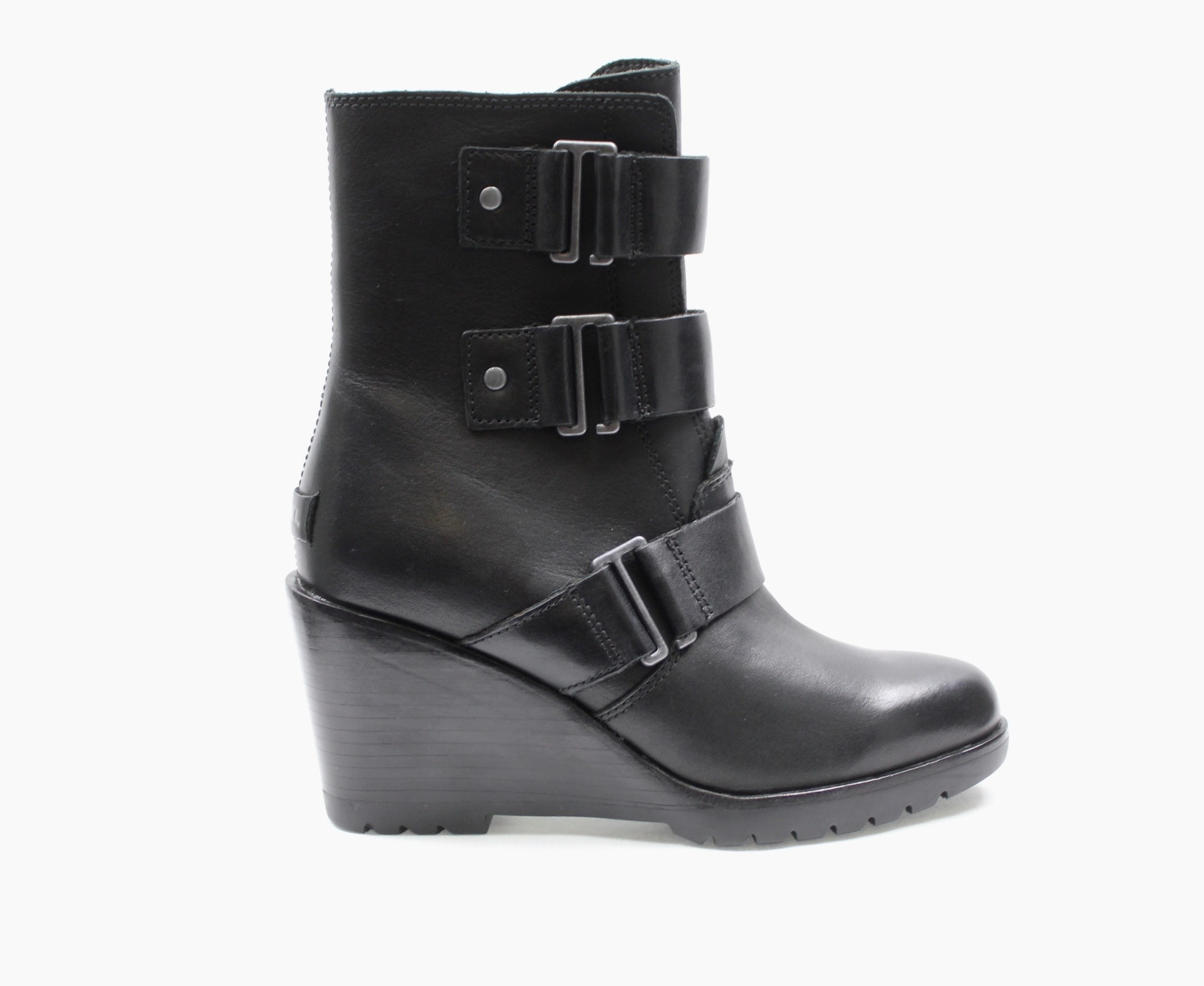 "SOREL SOREL ""AFTER HOURS"" Waterproof Wedge Bootie  Reg. $280  Sale $199"