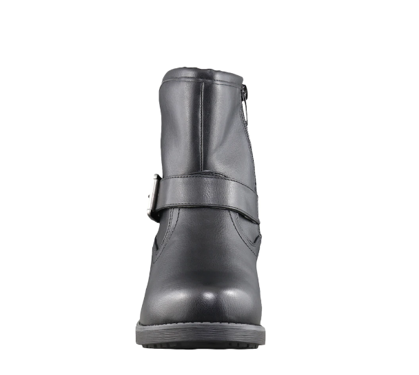 """TAXI TAXI """"JENNA"""" Black Biker Boot  Reg. $109  Sale $69"""