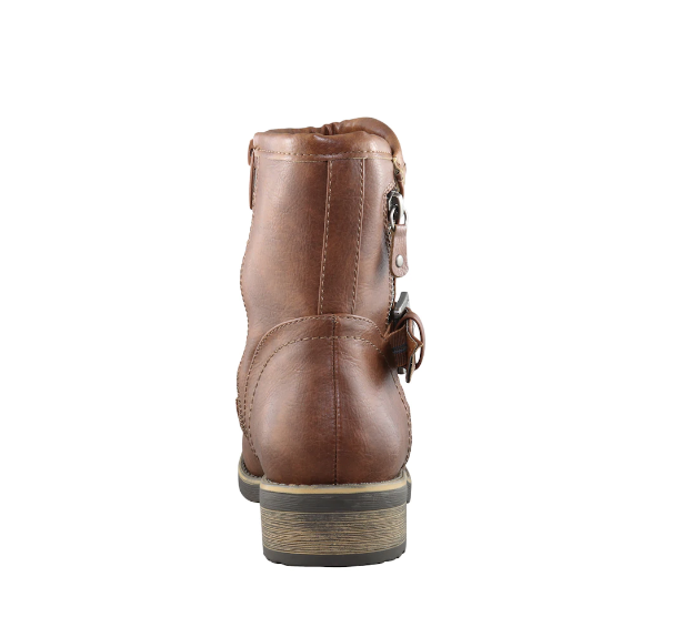 """TAXI TAXI """"JENNA"""" Tan Biker Boot  Reg. $109  Sale $89"""