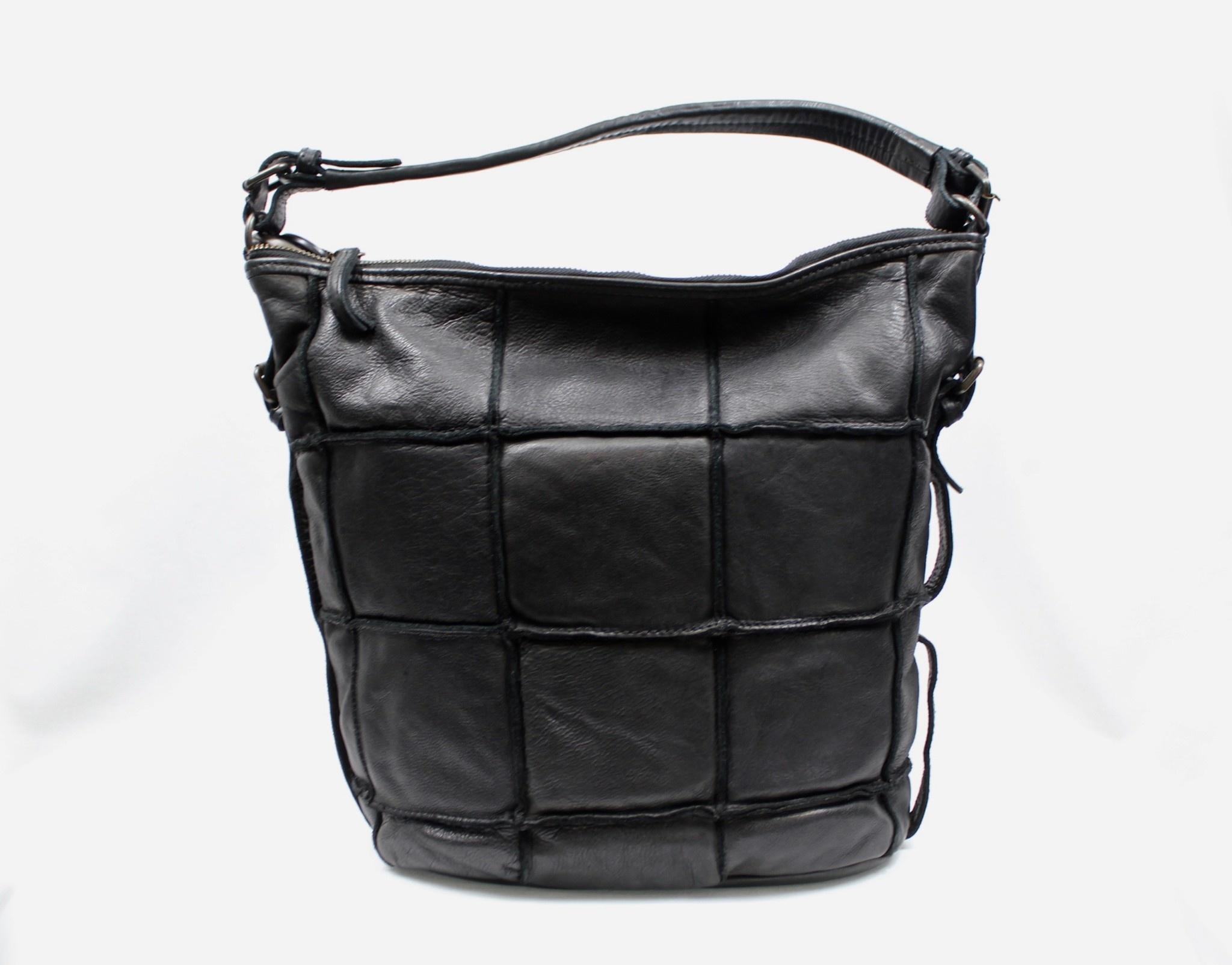 THE TREND THE TREND 24394 Black Hobo Handbag