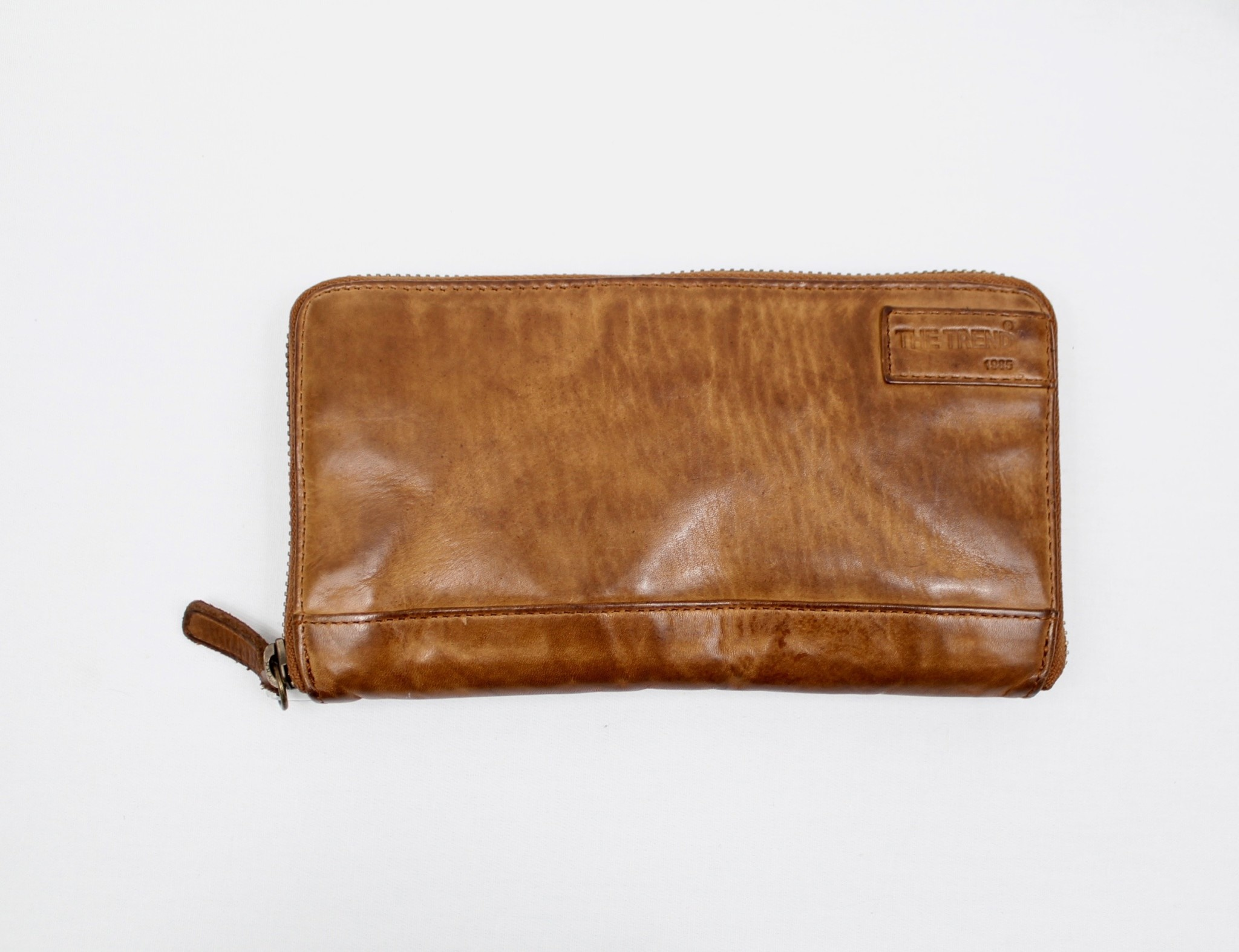 THE TREND THE TREND 4208106 Tan Leather Wallet
