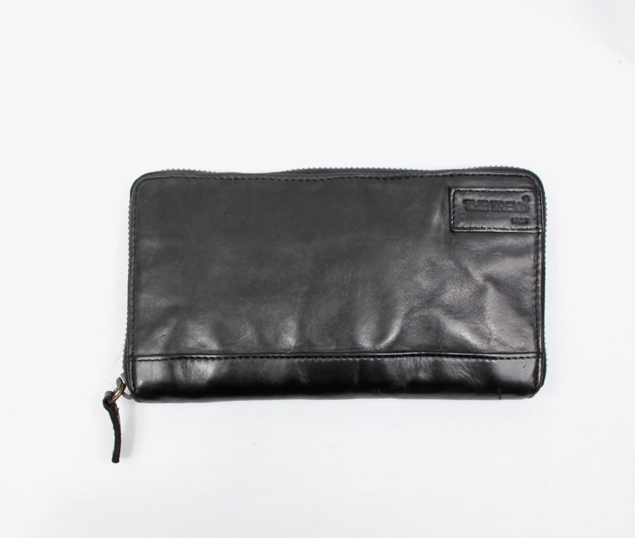 THE TREND THE TREND 4208106 Black Leather Wallet