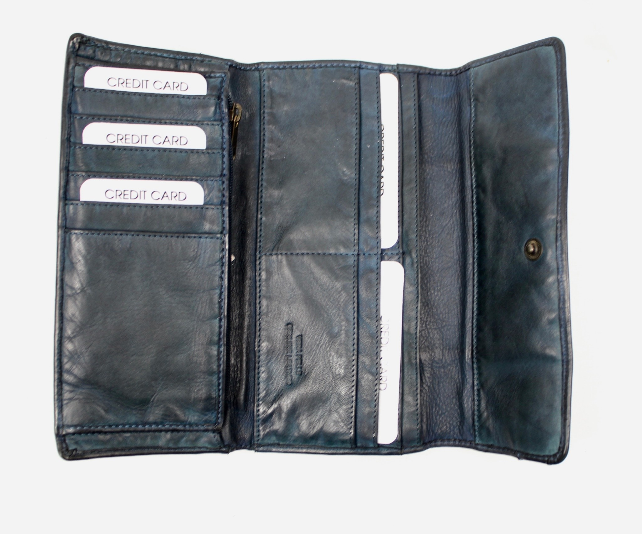 THE TREND THE TREND 4208245 Jeans Leather Wallet