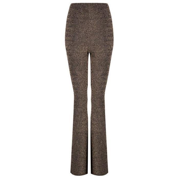 ESQUALO ESQUALO 14701 Lurex Flair Pants  Reg. $99  Sale $75