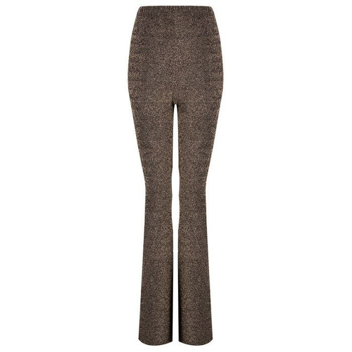 ESQUALO ESQUALO 14701 Lurex Flair Pants