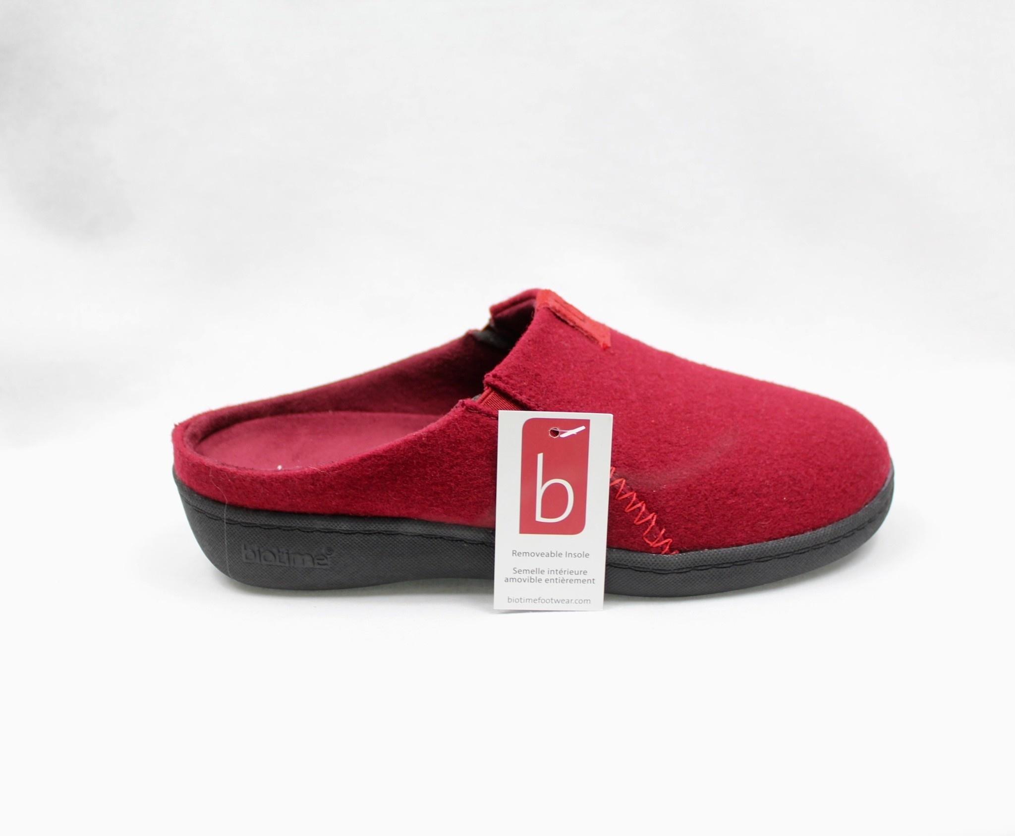 "BIOTIME BIOTIME ""EMMA"" Red Slipper  Reg. $54  Sale $44"