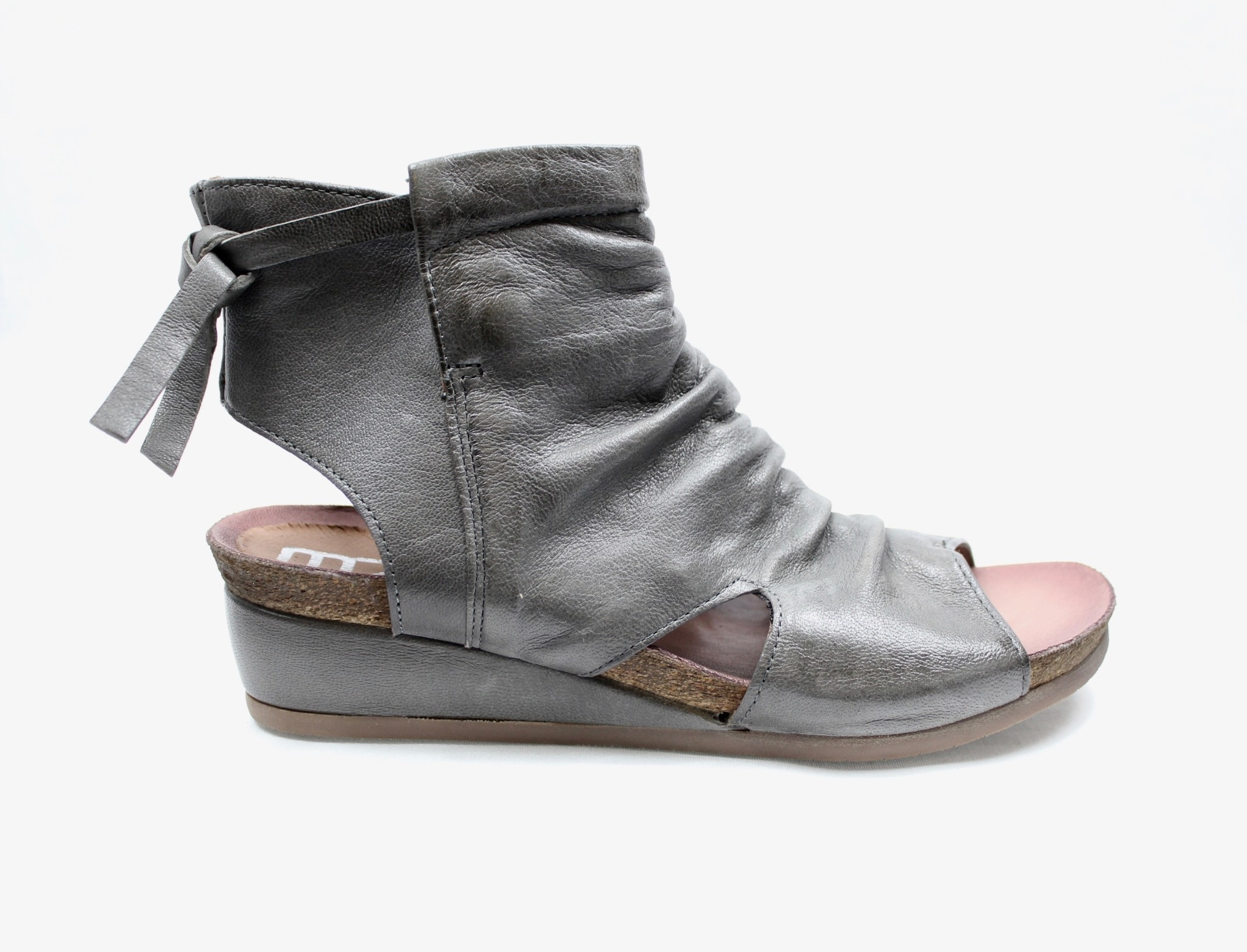 "MJUS MJUS 874001 ""Mouse"" (Grey) Wedge Sandal"