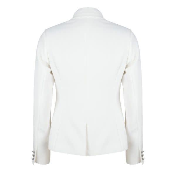 ESQUALO ESQUALO 17015 Off White Fancy Button Blazer