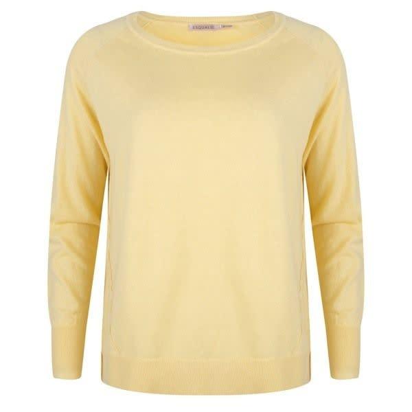 ESQUALO ESQUALO 03005 Pale Yellow Sweater  Reg. $79  Sale $59