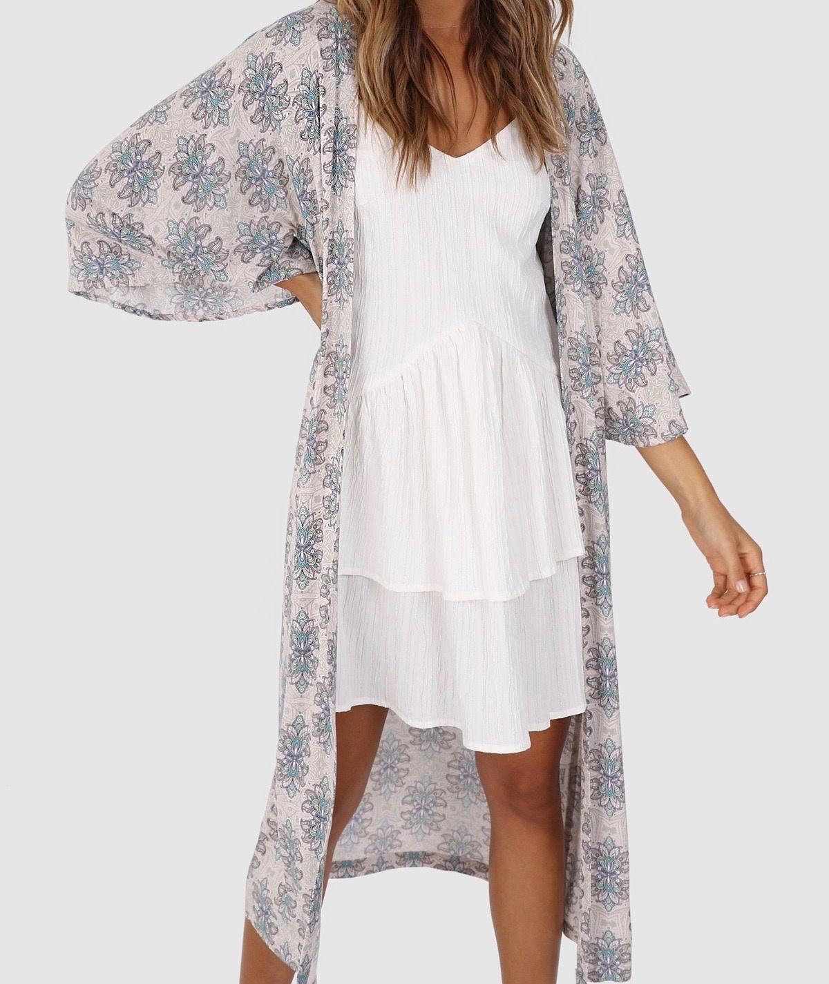 """LOST IN LUNAR LOST IN LUNAR L0155 """"EVIE"""" Kimono"""