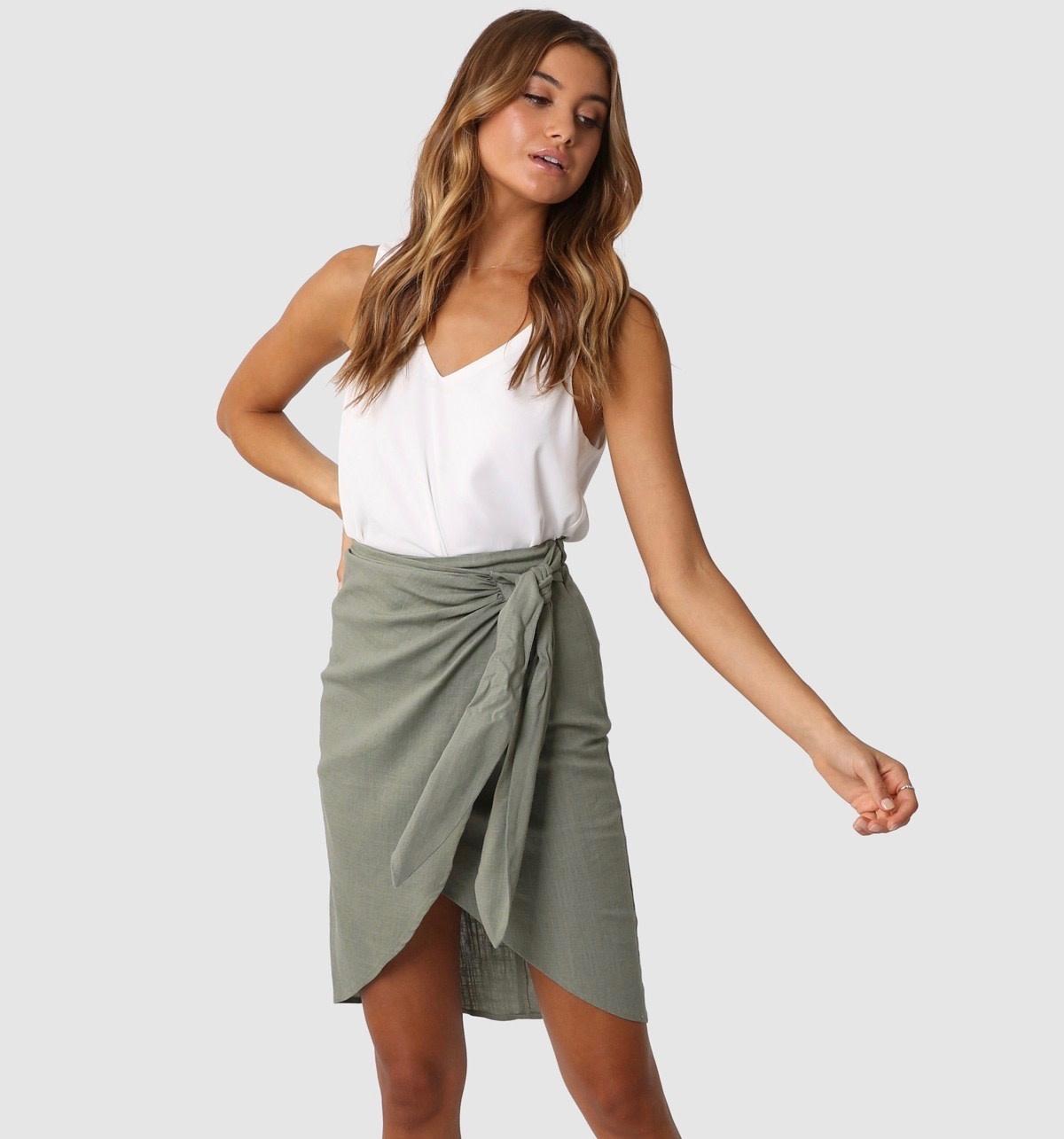 "LOST IN LUNAR LOST IN LUNAR L0102 ""SIREN"" Skirt"